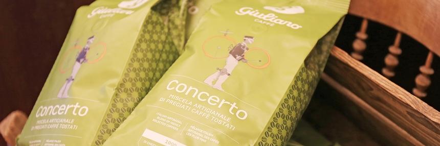 Unser Caffé der Woche: Giuliano Concerto