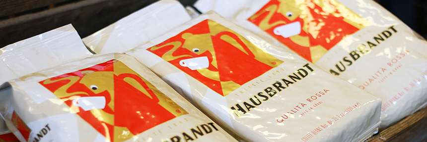 Unser Caffé der Woche: Hausbrandt Qualita Rossa