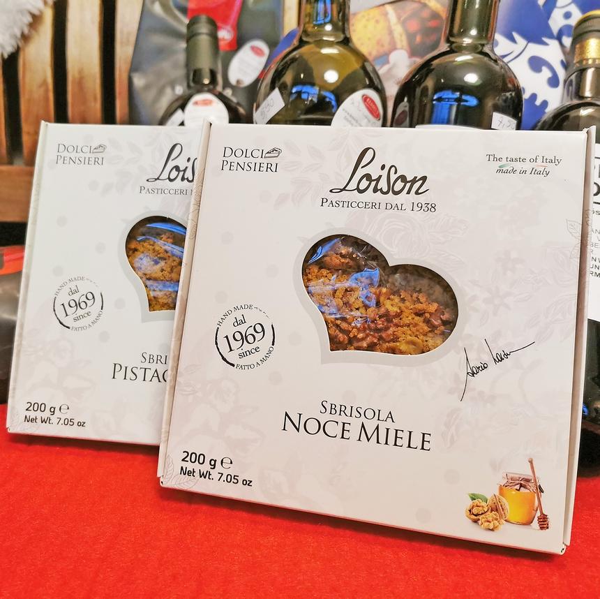 Nur für kurze Zeit: Streuselkuchen von Loison!