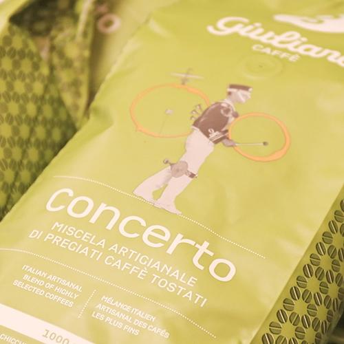 Unser Caffé der Woche: Caffé Giuliano Concerto