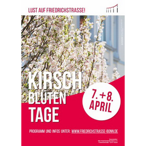 Kirschblütentage am 7. + 8. April 2017