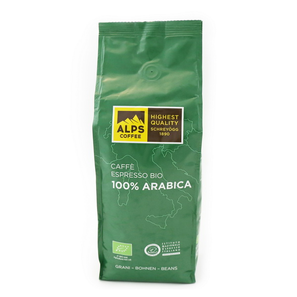 Alps Coffee Schreyögg Bio Arabica