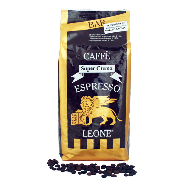 Leone Super Crema, entkoffeiniert