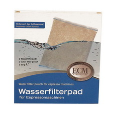 Wasserfilterpads für ECM Maschinen