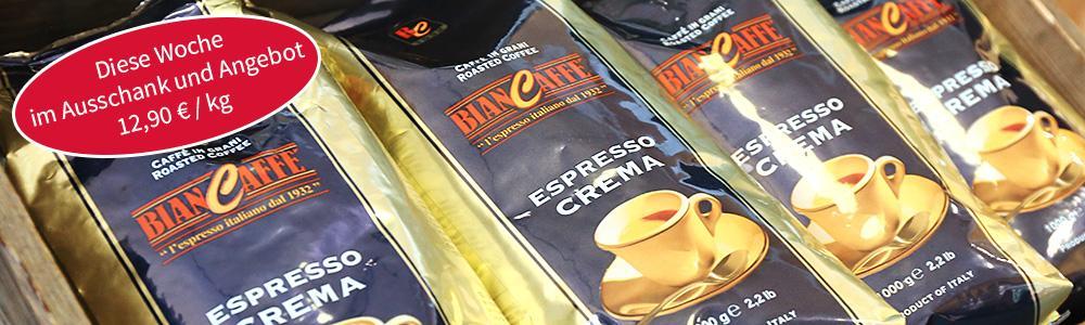 Caffé der Woche: BianCaffé Espresso Crema