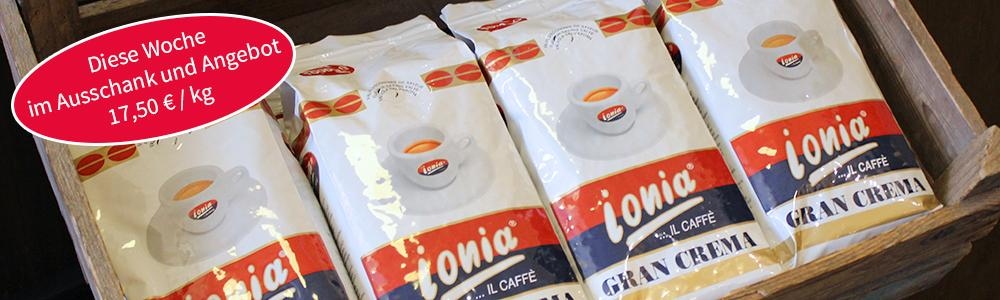 Unser Caffé der Woche: Caffé Ionia Gran Crema