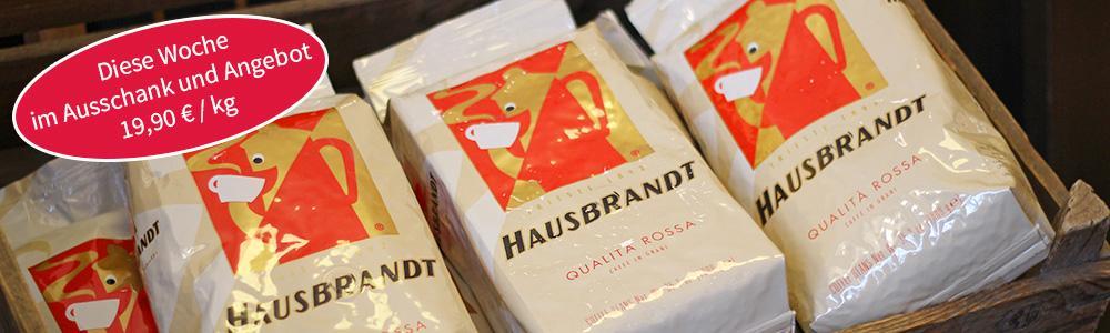 Caffé der Woche: Hausbrandt Qualita Rossa